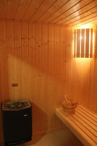 How about a relaxing sauna